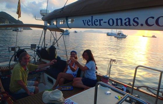 Sopar a bord